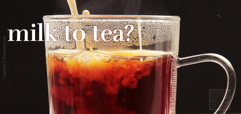 how to make good tea with milk