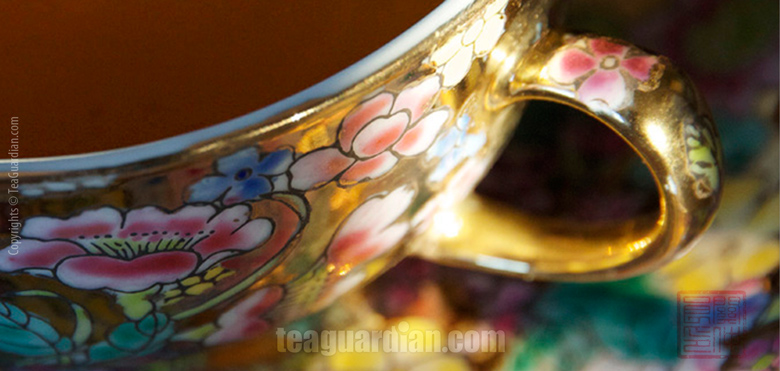 How the teacup works to infuence the taste of tea