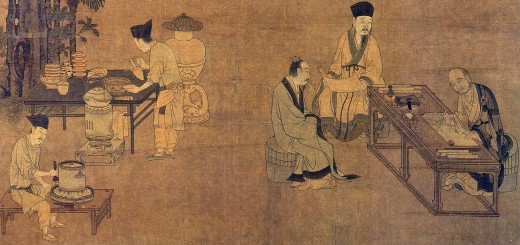 Tea Extraction 攆茶圖