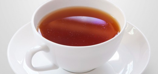 the standard ( average ) teacup: black tea