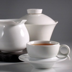 Infusing tea in smaller quantity with the gaiwan