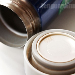tea stain in the thermos