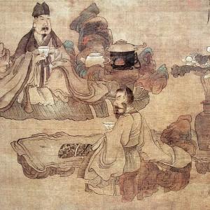 Tea Tasting ( Detail ) 品茗圖 ( 局部 )