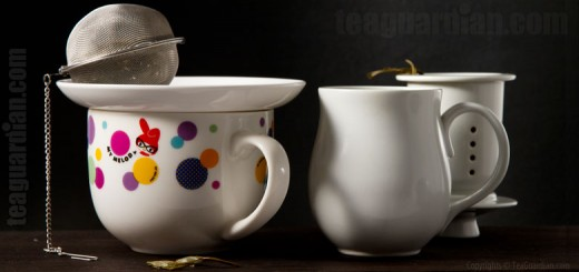 Tea infusion with the mug