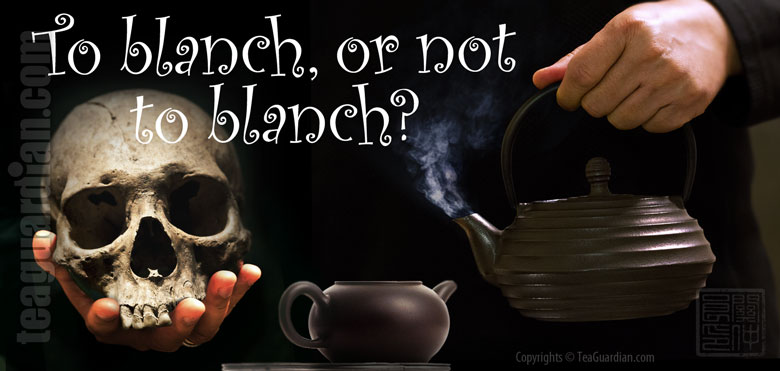 To blanch, or not to blanch?